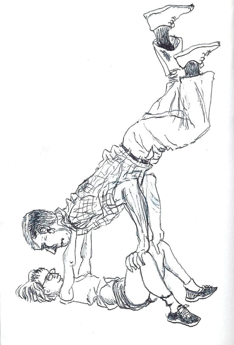 acrobat dessin1